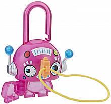 Набір Hasbro Lock Stars Pink Round Robot Замочки з секретом (E3103_E3191)