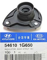Подушка опора амортизатора переднего левая HYUNDAI ACCENT 06-;KIA RIO 05- 546101G500,546101G505