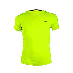 Чоловіча футболка для заняття спортом Nuckily MG011 Green M спортивна