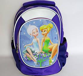 Шкільний рюкзак для дівчинки, з ортопедичною спинкою, Чарівні феї