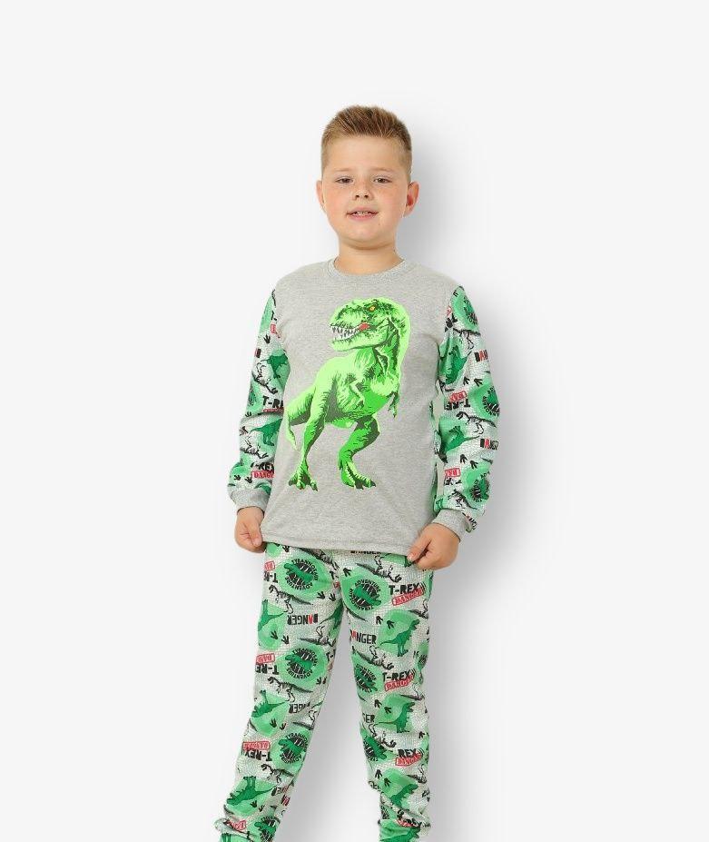 Подростковая пижама T-Rex для мальчика интерлок-пенье