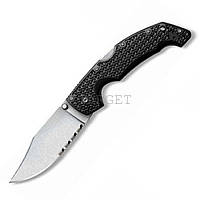 Нож Cold Steel Voyager Lg.Clip Point Serrated