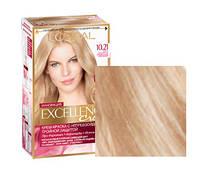 Краска для волос loreal excellence 10.21 Светло-светло-русый перламутровый осветляющий