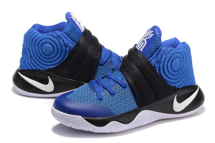 eb8c3c27 Баскетбольные кроссовки Nike Kyrie 2 синие - Интернет магазин обуви  Shoes-Mania в Днепре
