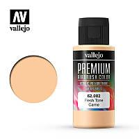 Телесный оттенок. Акрил-полиуретановая краска 60 мл. VALLEJO PREMIUM COLLOR 62002