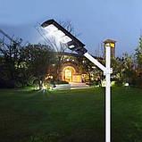 Уличный фонарь на столб  3 яркие панели для освещения 375W Cobra solar street light R3 VPP 7780, фото 4