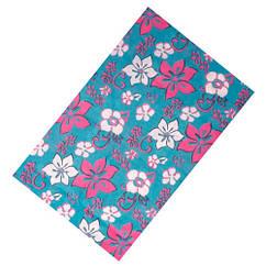 Бафф бандана-трансформер, шарф з мікрофібри, 6 квіти