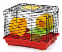 "Клетка ""Хомяк-1 Люкс"" для мелких грызунов, 33х23х29, цинк"