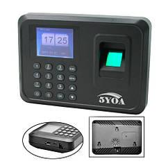 Біометричний термінал контролю доступу СКД за відбитками пальців 5YOA