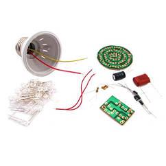 Конструктор LED лампа, лампочка 2.4 Вт, ЗБЕРИ САМ