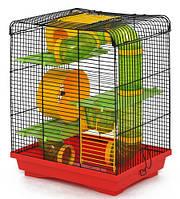 """Клетка """"Хомяк-3 Люкс"""" для мелких грызунов, 33х23х43, окрашенная"""