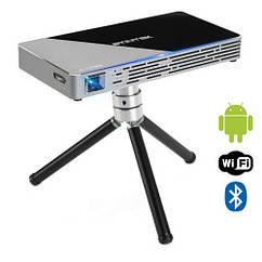 """Проектор мультимедійний кишеньковий DLP 30-150"""", Android, Byintek UFO P10"""