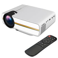 """Проектор мультимедійний портативний LCD 50-130"""" 1200лм YG410 MiraScreen"""