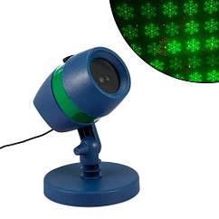 Лазерний проектор новорічний вуличний USB RGBW Star Shower садовий
