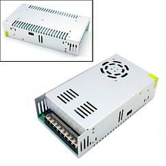 Блок живлення перфорований 24В 20А 480Вт, 3-кан для LED-стрічок CCTV