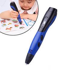 3D-ручка для творчості c OLED-дисплеєм USB Air Pen з филаментом, в чохлі