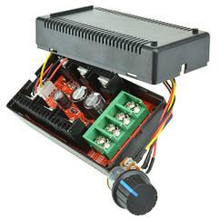 ШІМ регулятор швидкості двигуна 10-50В 40А 2000Вт PWM обертів