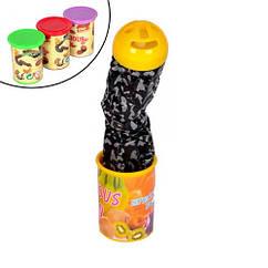 Іграшка баночка з вистрибує змійкою 19см склянку сюрприз розіграш прикол