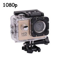 Відеокамера, екшн-камера водонепроникна 1080p, A7, комплект кріплень