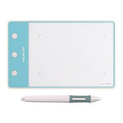 """Графічний планшет з пером HUION H420 4x2.23"""" кнопки, білий"""