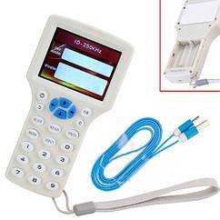 Дублікатор, копіювальник RFID ID РЧИД NFC, 9 частот LCD, зчитувач