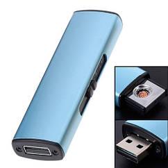 USB запальничка електронна Спіраль, алюміній