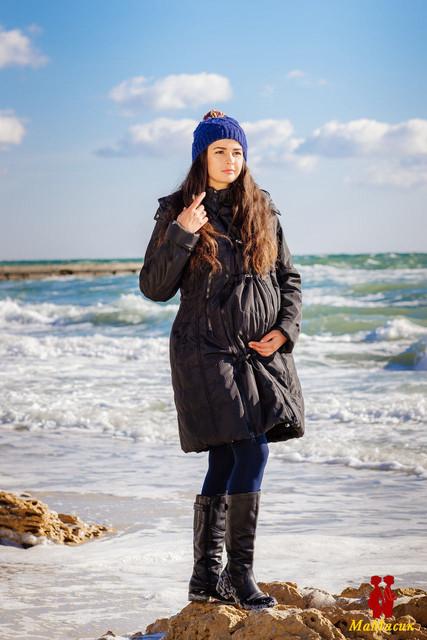 Пальто для будущих мам зимние