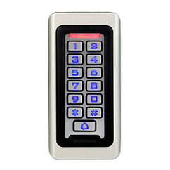 Система контролю доступу СКД панель RFID 125КГц+13.56 МГц антивандальна