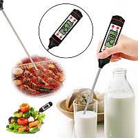 Домашний пищевой цифровой электронный кулинарный термометр для еды градусник со щупом штыковой игла