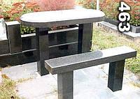 Стол и лавка для кладбища № 463