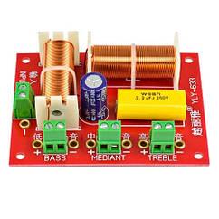 Кросовер фільтр 3-смуговий пасивний для акустики 200Вт YLY-633