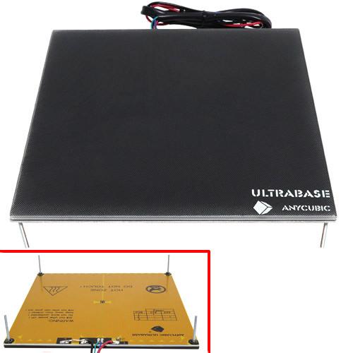 Нагрівальна платформа, скло Anycubic Ultrabase 12/24В 3D-принтера