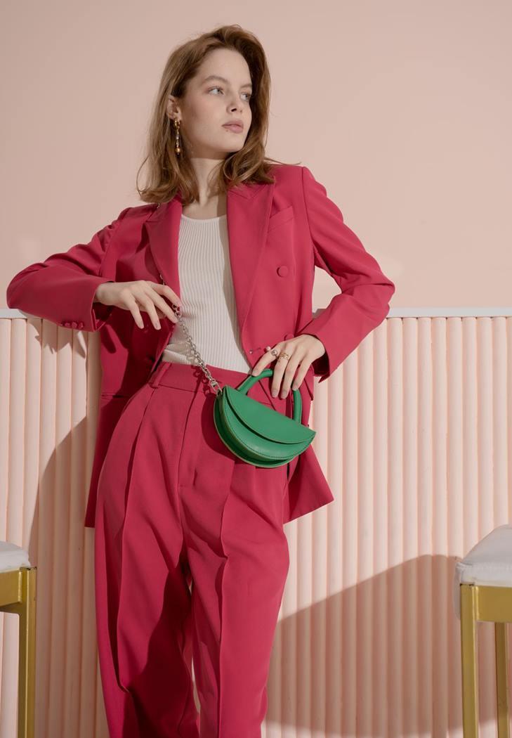 Мини сумочка женская кожаная зеленая TW-Chris-mi-gr