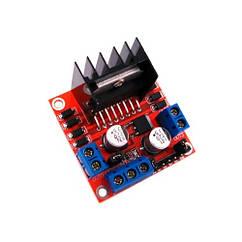 Драйвер двигуна 2-кан 5В H-міст L298N для Arduino