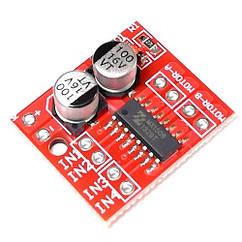Драйвер двигуна 2-кан H-міст MX1508, L298N Mini для Arduino