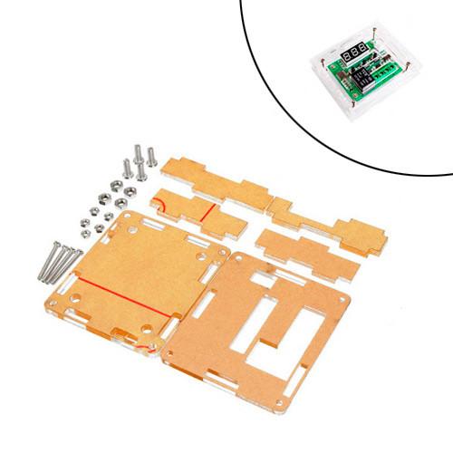 Корпус для цифрового міні термостата терморегулятора W1209, 10А, 12В