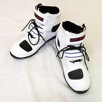 Мотоботы ( Мото ботинки) Probiker Speed A005 White