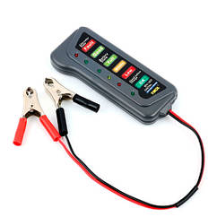 Тестер автомобільного акумулятора і генератора 12В