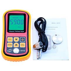 Товщиномір ультразвуковий 1.2-225мм 5МГц Benetech GM100
