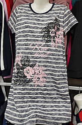 Туника-платье женская хлопок