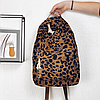Рюкзак леопардовий принт, фото 2