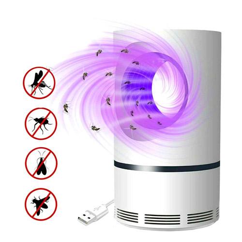 Лампа ловушка для уничтожения комаров насекомых USB, JUN BO JB-666