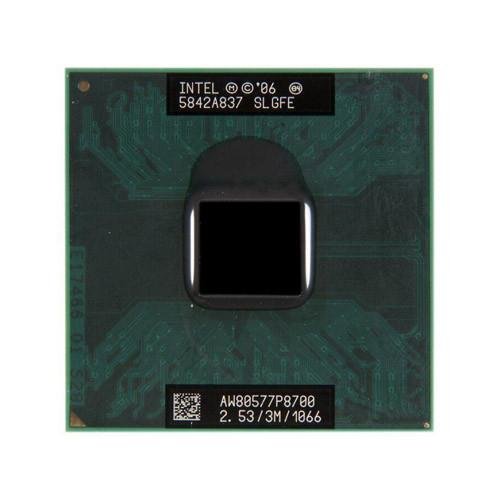 Процессор Intel Core 2 Duo P8700, 2 ядра, 2.53ГГц, PGA478, BGA479