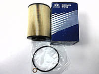Фильтр масляный HYUNDAI SANTA FE 2.2CRDI 11-,SONATA NF 2.0CRDI 11-,TUCSON 2.0CRDI VGT 08- 2632027400