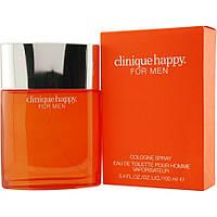 Туалетная вода мужская Clinique Happy For Men 100 ml парфюм мужские духи Клиник Хэппи