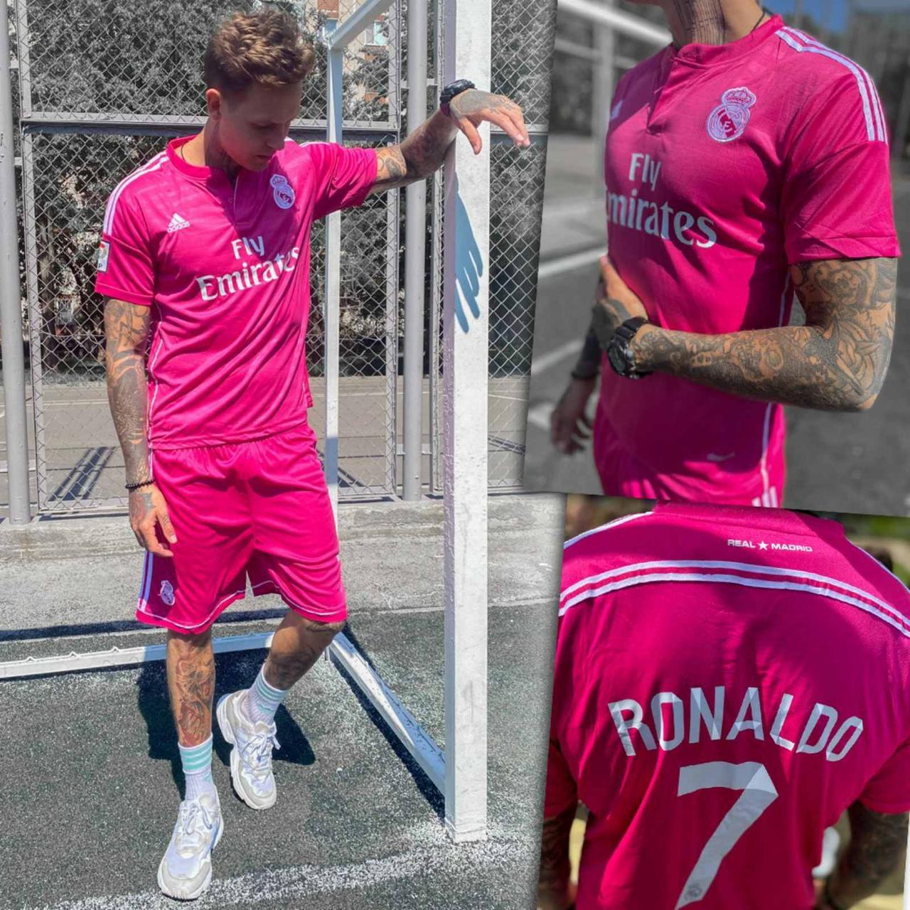 Мужской спортивный костюм(Футболка+ шорты) Размеры: S, L