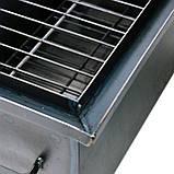 Коптильня горячего копчения 2мм 520х320х300мм с Гидрозатвором (коптилка,каптилка), фото 5