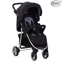 Детская прогулочная коляска  4 baby RAPID PREMIUM SILVER (серебристый)