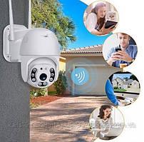 Вулична поворотна IP камера відеоспостереження UKC CAD N3 4G/WIFI