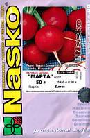 Семена редиса Марта 250 г. Nasko